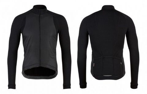 Café Du Cycliste Spring & Autumn Men's Patricia Jersey - Black